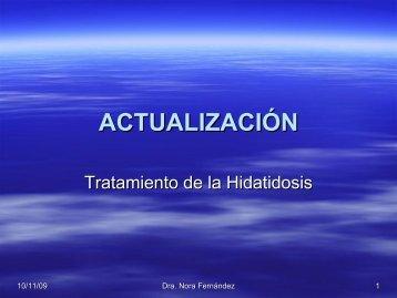 Actualización en el tratamiento de la hidatidosis
