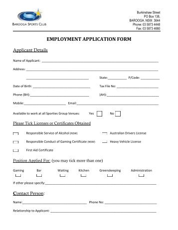 employment application form tutti frutti frozen yogurt