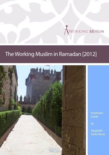 The Working Muslim in Ramadan [2012]