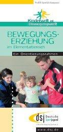 BEWEGUNGS- ERZIEHUNG - Kinderwelt-Bewegungswelt.de
