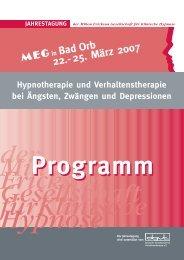 Programm Bad Orb 07 (Page 1) - MEG Jahrestagung 2014
