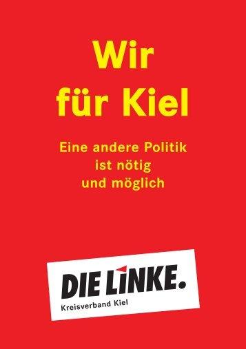 Wahlprogramm - StadtRegionalBahn für die Region Kiel!