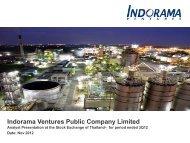 Fibers - Indorama Ventures Public Company Limited