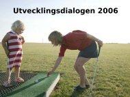 Presentation utvecklingsdialogen - Golf.se