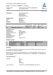GUTACHTEN zur ABE Nr. 47890 nach §22 StVZO Anlage 1 zum ...