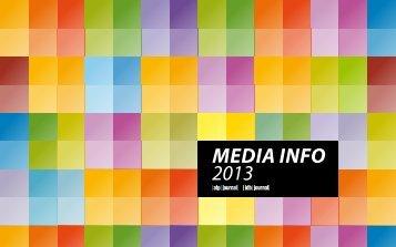 Media info 2013- slovenská verzia - iDB Journal
