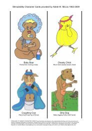 Miccio Character Cards 7 page pdf