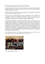 Besuch bei der Feuerwehr - Grundschule - Mittelschule Geiselhöring