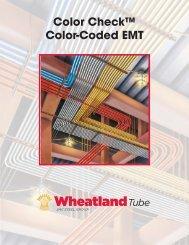 Color Check™ Color-Coded EMT - Wheatland Tube