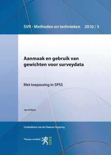 Jan Pickery - 2010 - pdf - 1,2 MB - Vlaanderen.be
