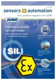 sensors + automation - Jumo GmbH & Co. KG