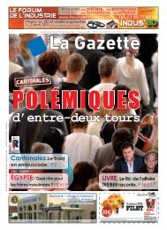 d'entre-deux tours - La Gazette de Côte d'Or