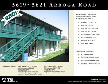 5 6 2 1 a rboga r oad - Apartment Advisory Team