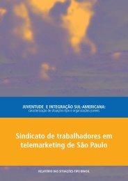 Sindicato de trabalhadores em telemarketing de São Paulo - Ibase