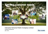 The Polyester Value Chain - Indorama Ventures Public Company ...