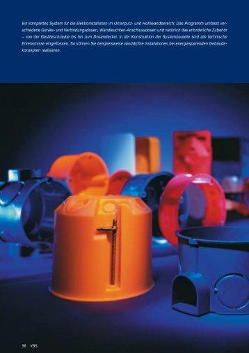 PDF Datei: Broschüre / OBO / Katalog Unterputzdose