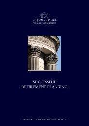 Successful Retirement Planning - St James's Place