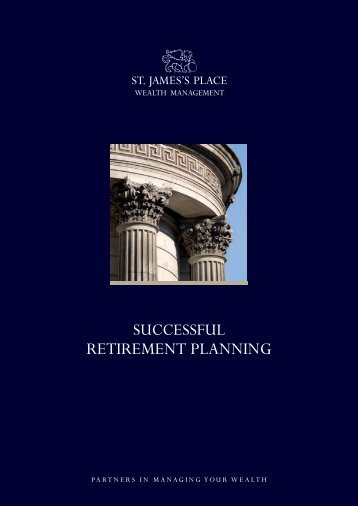 Successful Retirement Planning - St James's Place