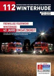 freiwillige feuerwehr winterhude: 40 jahreeinsatzbereit