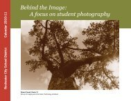 Behind the Image: A focus on student photography - Rochester City ...