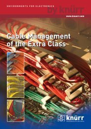 Cable Management of the Extra Class Cable ... - Connex Telecom