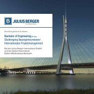 Bachelor of Engineering (B. Eng.) Studiengang Bauingenieurwesen ...