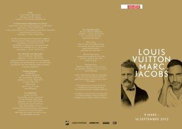 LOUIS VUITTON MARC JACOBS - Les Arts Décoratifs