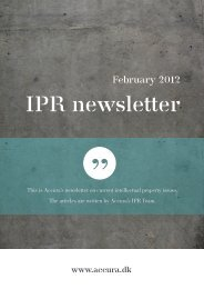 IPR newsletter