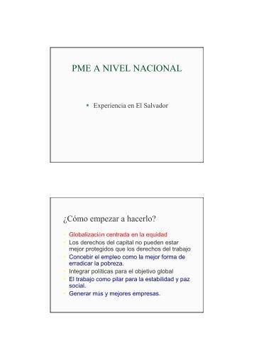 ANEXO 5 - PME_ElSalvador - Sustainlabour