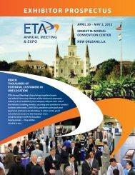 Exhibitor prospECtus - Electronic Transactions Association