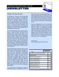AHS Newsletter 4-08 - Arizona Hydrological Society