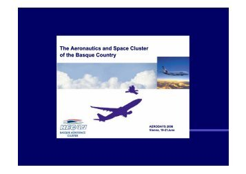The Aeronautics and Space Cluster of the Basque Country