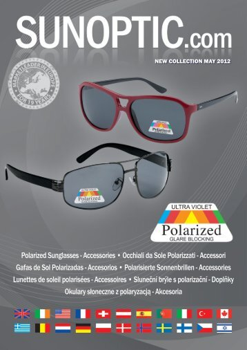 Download here our Polarized Sunglass brochure ... - SUNOPTIC.com