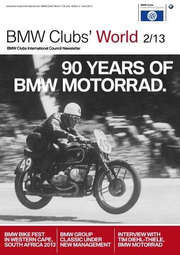 BMW Clubs' World 2/13 - the BMW Car Club of British Columbia