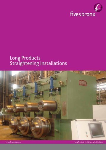 Long Products Straightening Installations - Fives