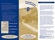 Brown Hill Creek Walk Brochure - City of Mitcham - SA.Gov.au