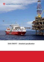 Detailed specification - DAN SWIFT - J. Lauritzen