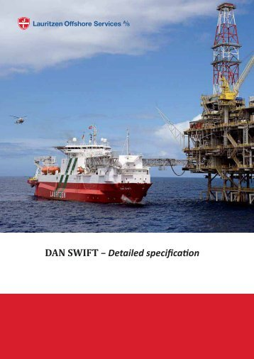 Detailed specification - DAN SWIFT - J. Lauritzen