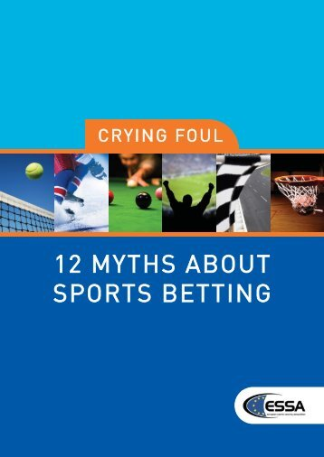 12 myths about sports betting - European Sports Security Association
