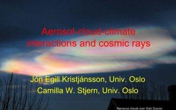 Galactic Cosmic Rays - GFZ