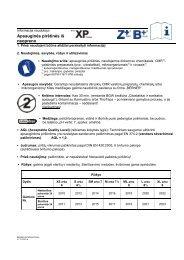 Apsauginės pirštinės iš neopreno - BERNER International GmbH