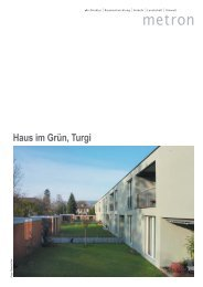 Haus im Grün, Turgi - Metron