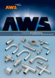 katalog getränketeile catalogue beverage industry parts - AWS ...