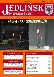 APETYT (NA) GOMBROWICZA - Jedlińsk, Urząd Gminy