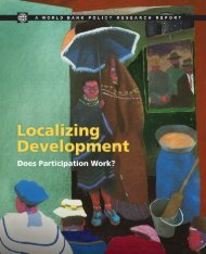Localizing Development - Does Participation Work? by ... - DeLoG