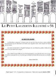 LE PETIT LAUZERTIN ILLUSTRÉ N°56 - Lauzerte