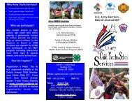 Detroit Arsenal MST - Morale, Welfare & Recreation Home Page