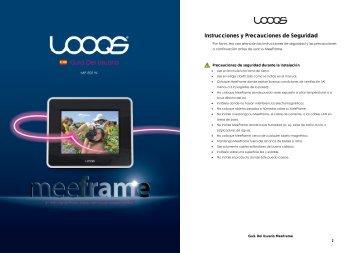 Instrucciones y Precauciones de Seguridad - Looqs.com