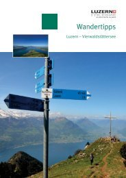 Wandertipps - Luzern Vierwaldstättersee - Stanserhorn