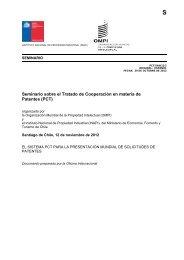 El Sistema PCT para la presentación mundial de solicitudes ... - Inapi